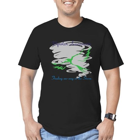 The Storm Men's Fitted T-Shirt (dark)