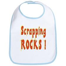 Scrapping Rocks ! Bib