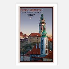 Cesky Krumlov Towers Postcards (Package of 8)