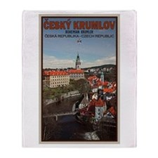 Cesky K. Vltava River Throw Blanket