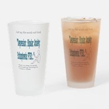 Quotes Drinking Glass