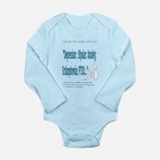 Quotes Long Sleeve Infant Bodysuit
