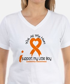 With All My Heart Leukemia Shirt