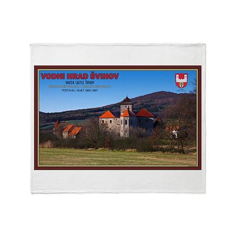 Svihov Castle Throw Blanket
