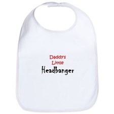 Daddy's Little Headbanger Bib