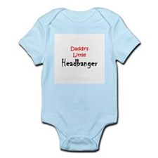 Daddy's Little Headbanger Onesie