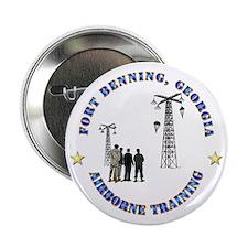 """Airborne Training - Ft Benning 2.25"""" Button"""