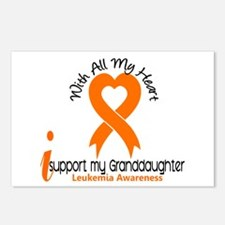 With All My Heart Leukemia Postcards (Package of 8