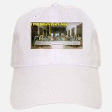 Last Supper Baseball Baseball Cap