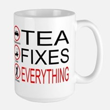 Tea Fixes Everything Large Mug