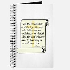 John 11:25-26 Journal