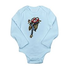 Street Breakdancing Long Sleeve Infant Bodysuit