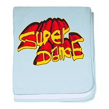 Super Dance Logo baby blanket