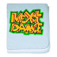Next Dance baby blanket