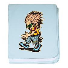 Boy Dancer baby blanket