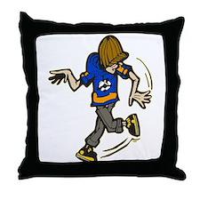 Street Dance Throw Pillow