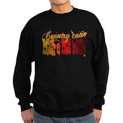 Country Cutie/ Rock n Roll Bo Sweatshirt (dark)