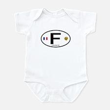 France Euro Oval Infant Bodysuit