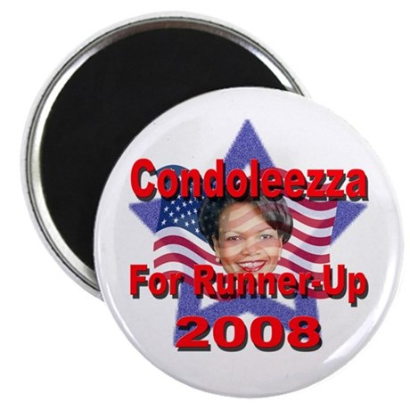 "Condoleezza Rice For Runner-U 2.25"" Magnet (10 pac"