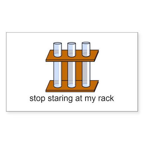 staring Sticker (Rectangle)