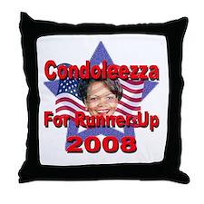 Condoleezza Rice For Runner-U Throw Pillow