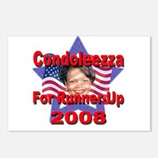 Condoleezza Rice For Runner-U Postcards (Package o
