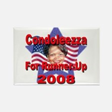 Condoleezza Rice For Runner-U Rectangle Magnet