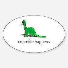 happens Sticker (Oval)