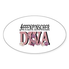 Affenpinscher DIVA Decal