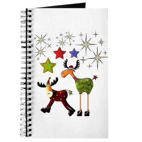 Star Moose Greetings Journal