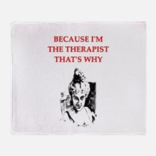 psychologist Throw Blanket