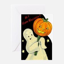 Halloween Ghost Greeting Card