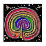 Finger Labyrinth  Tile  for  Meditation