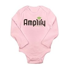 Cute Amplify interactive Long Sleeve Infant Bodysuit