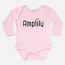 Cute Amplify interactive Long Sleeve Infant Bodysuit
