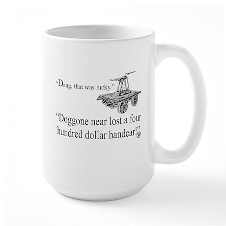 """""""Handcar"""" Large Mug"""