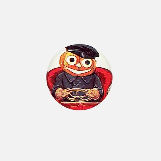 Pumpkin Driver Mini Button