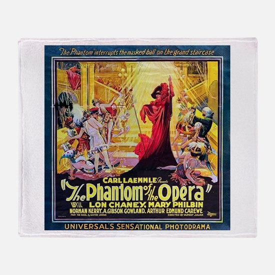 Original Phantom Throw Blanket
