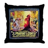 Phantom of the opera Throw Pillows