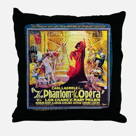 Original Phantom Throw Pillow