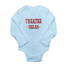 Theatre Rules Long Sleeve Infant Bodysuit