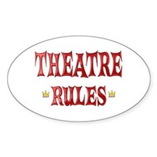 Theatre Rules Decal