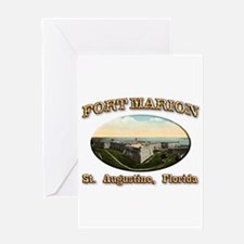 Fort Marion Greeting Card