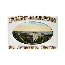 Fort Marion Rectangle Magnet