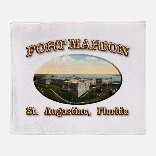 Fort Marion Throw Blanket