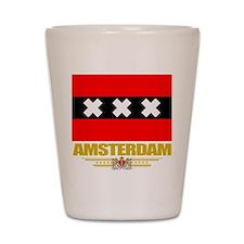 Amsterdam Flag Shot Glass