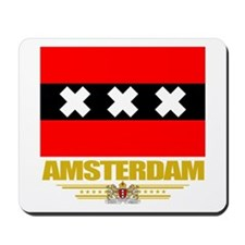 Amsterdam Flag Mousepad