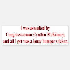 McKinney Assault Bumper Bumper Bumper Sticker