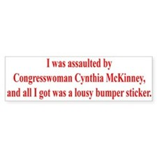 McKinney Assault Bumper Bumper Sticker