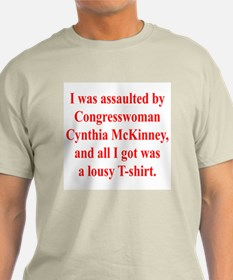 McKinney Assault Ash Grey T-Shirt